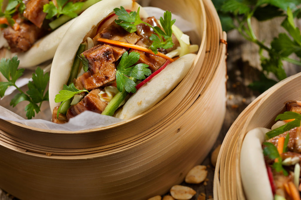BAO BUNS WITH FISH