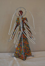Load image into Gallery viewer, Beaded Angel free standing