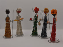 Load image into Gallery viewer, Beaded Christmas figures with box