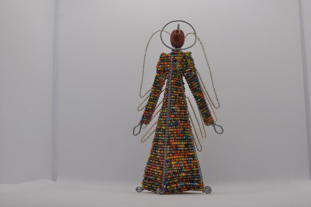 Beaded Angel free standing