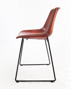 Chair Grand F Red Brown