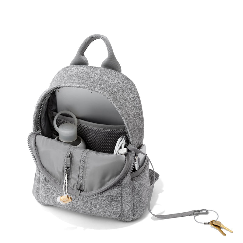 Heather Grey Dakota Backpack