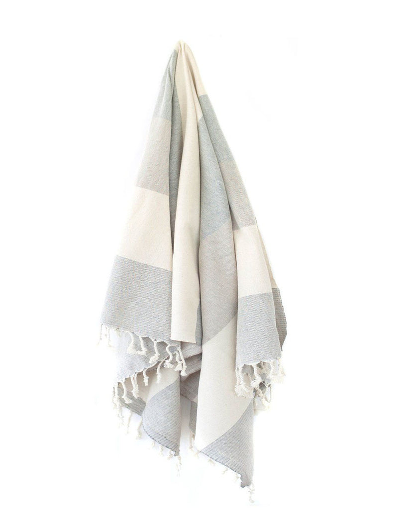 Cream & Grey Rio Towel