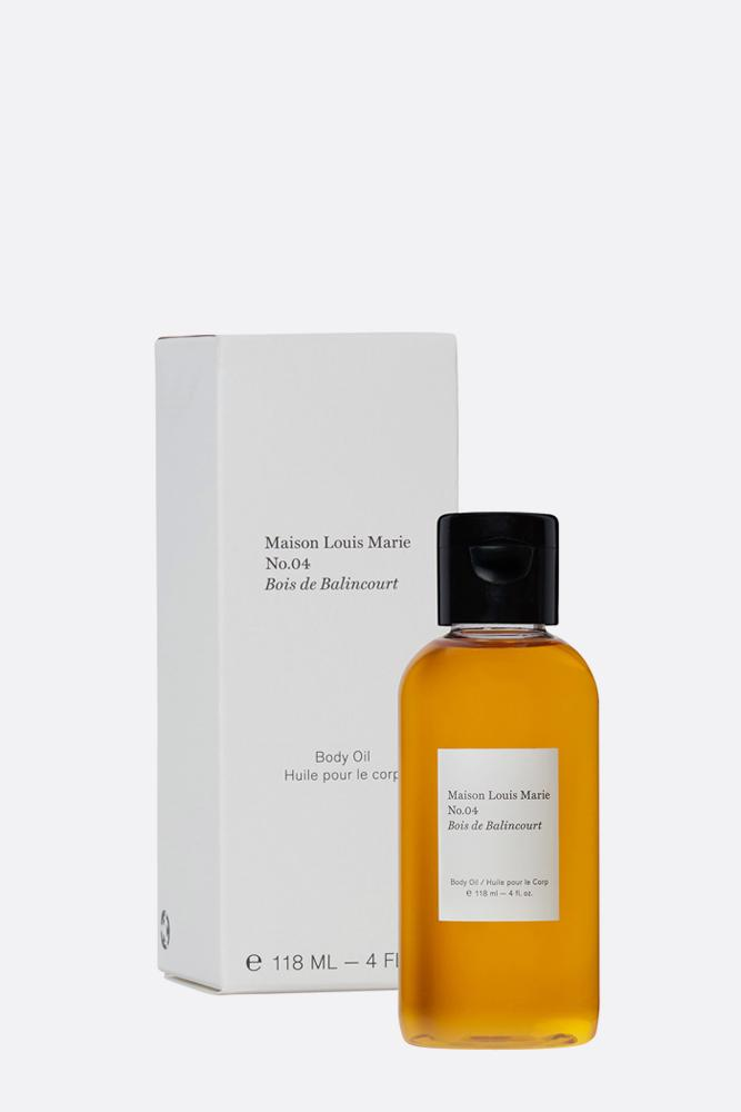 No. 4 Bois de Balincourt Body Oil