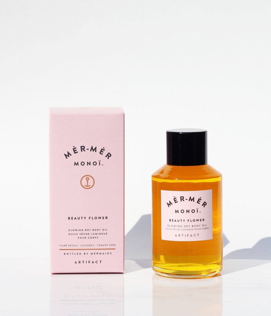 Mèr-Mèr Monoi Beauty Flower Glowing Dry Body Oil