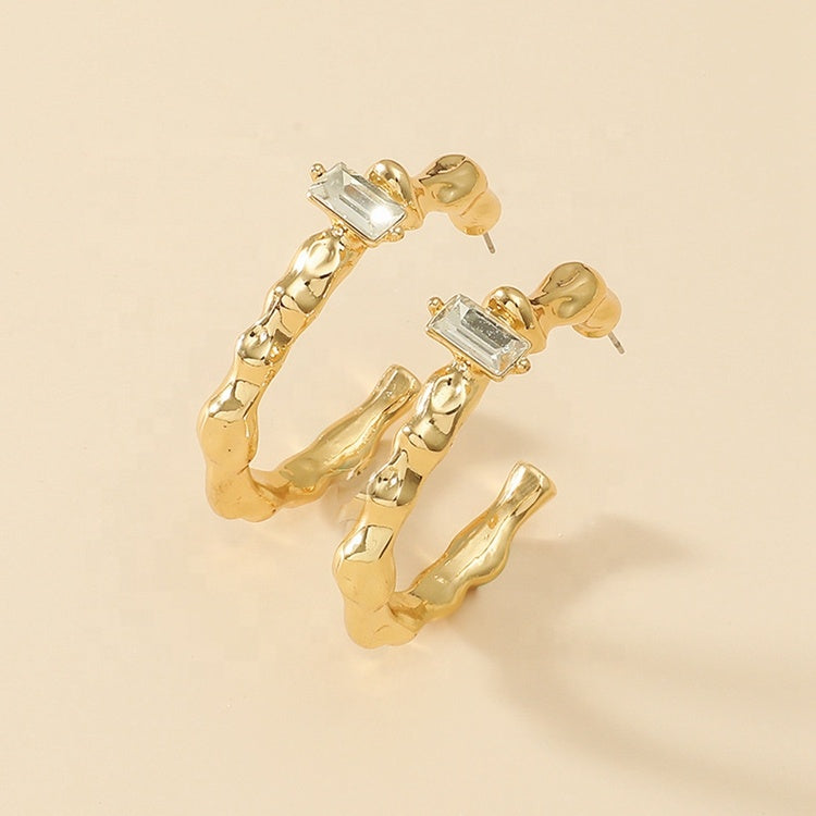 Bianca Gold Earrings