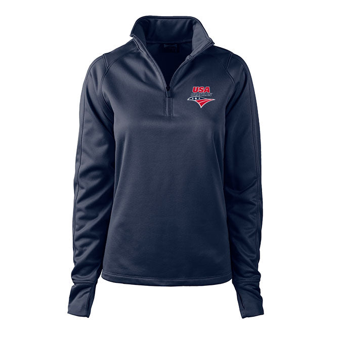 USA Duathlon Women's 1/4 Zip Performance Pullover