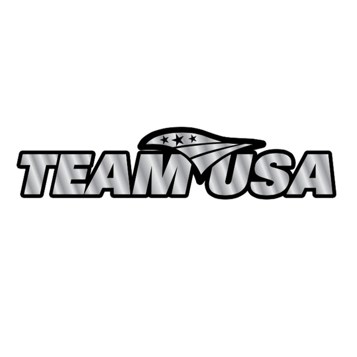 Team USA Chrome Auto Emblem