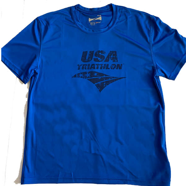 Youth USAT Logo Tech Tee