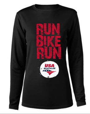 Men's Run, Bike, Run Long Sleeve Tech Tee