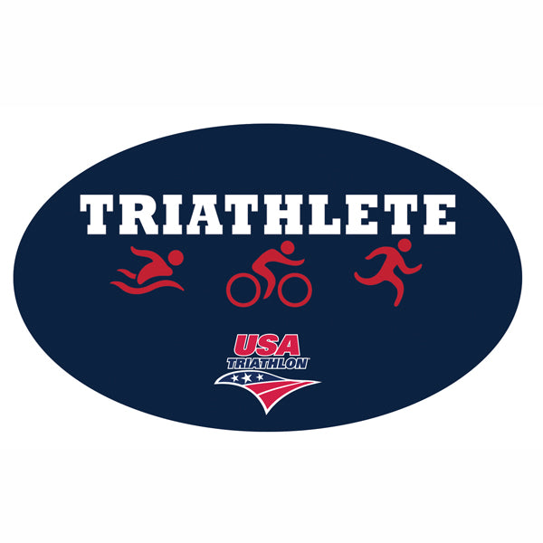 Triathlete Sticker