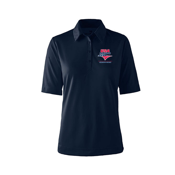 Women's USA Triathlon Race Director Tech Polo