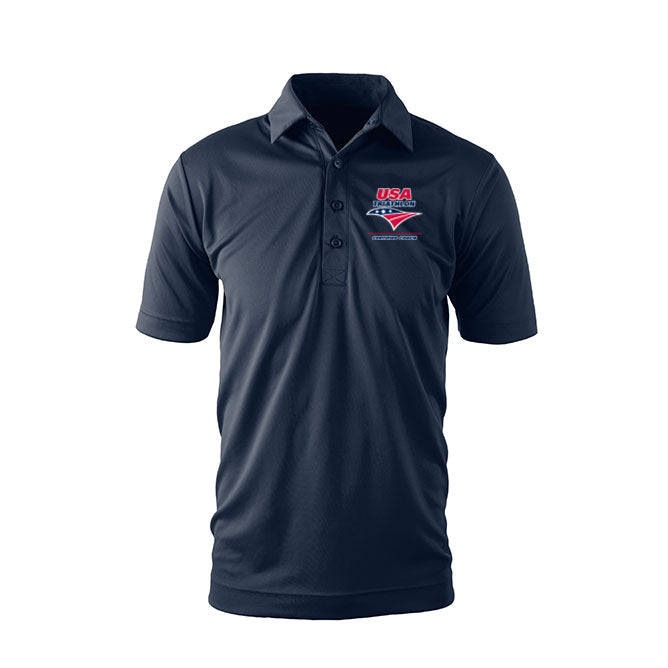 Men's USA Triathlon Race Director Tech Polo