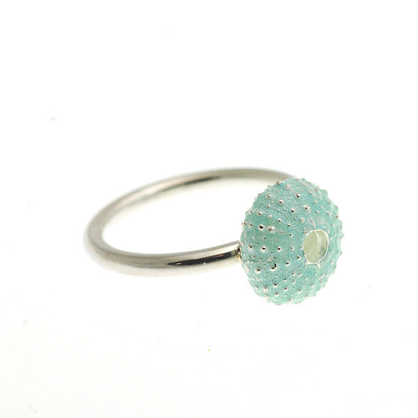 Enamelled Urchin Ring