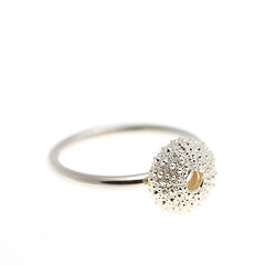 Silver Urchin Ring