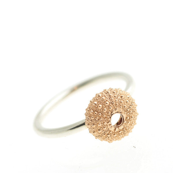 Rose Gold Vermeil Urchin Ring