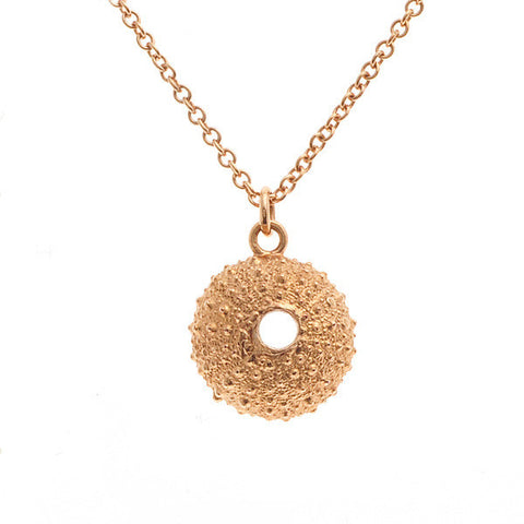 Rose Gold Vermeil Urchin Necklace