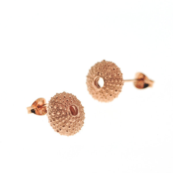 Rose Gold Vermeil Urchin Stud Earrings