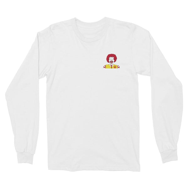 Pray for Burger Double-Sided Longsleeve Shirt