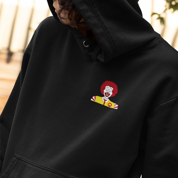 Pray for Burger Double-Sided Hoodie