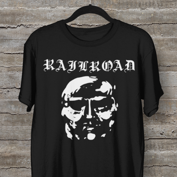 RAILROAD (with text) Shirt