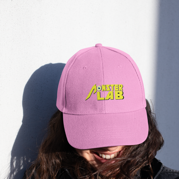 Monster Lab Embroidered Hat