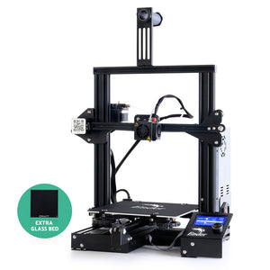 Creality Ender 3 3D Printer Glass Bed Resume Printing High Precision 220x220x250