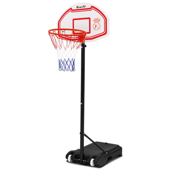 Pro Portable Basketball Stand System Hoop Height Adjustable Net Ring
