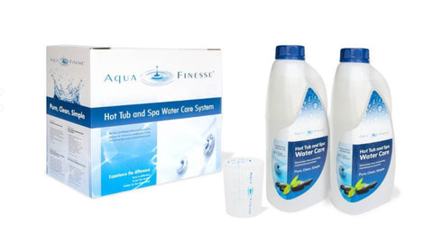 AquaFinesse Hot Tub Water Care box
