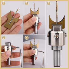 Load image into Gallery viewer, Drill Bit Wooden Beads Maker Set