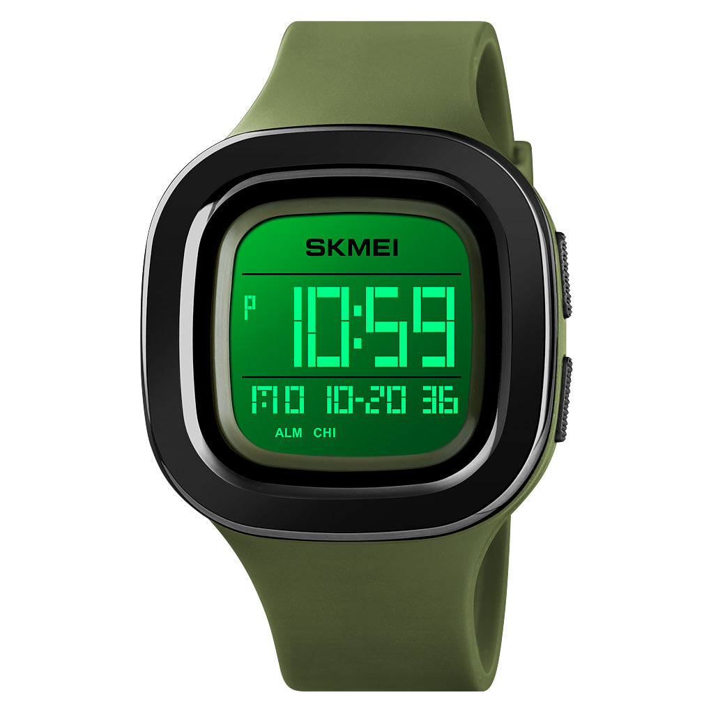 Skmei Army Green camouflage Men's Watch