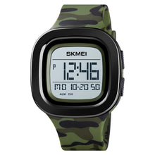Load image into Gallery viewer, Skmei Army Green camouflage Men's Watch