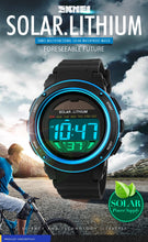 Load image into Gallery viewer, SKMEI Solar Powered Unisex Sports Watch