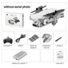 Load image into Gallery viewer, Protable Mini Drone 4K 1080P HD Camera WiFi Fpv Air Pressure Altitude Hold Foldable Quadcopter RC Drone Toy