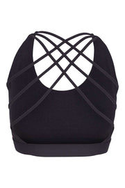 Bamboo Bra Crossed Back - Back - Iron