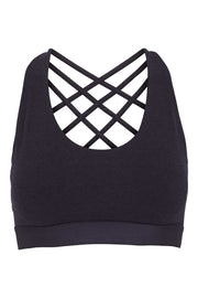 Bamboo Bra Crossed Back - Front - Iron