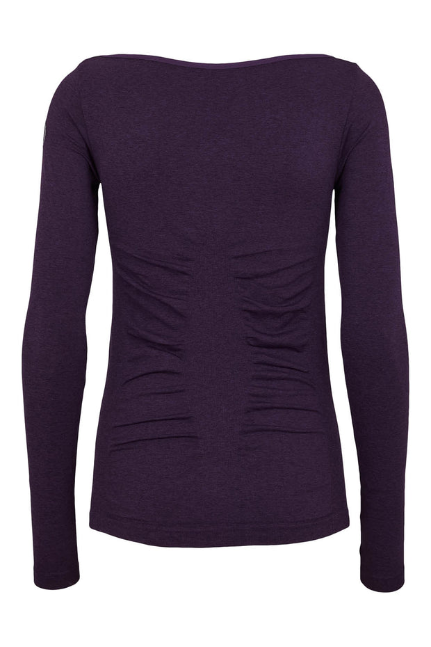 Beluga Classic Long Sleeve - Back - Sweet grape