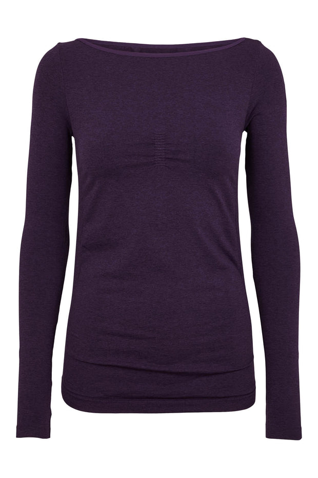 Beluga Classic Long Sleeve - Front - Sweet grape