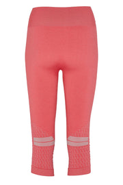 Beluga Classic Tights 3/4 - Back - Calypso Coral