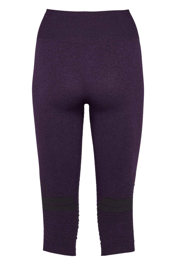 Beluga Classic Tights 3/4 - Back - Sweet Grape