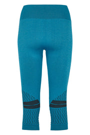Beluga Classic Tights 3/4 - Back - Turquoise