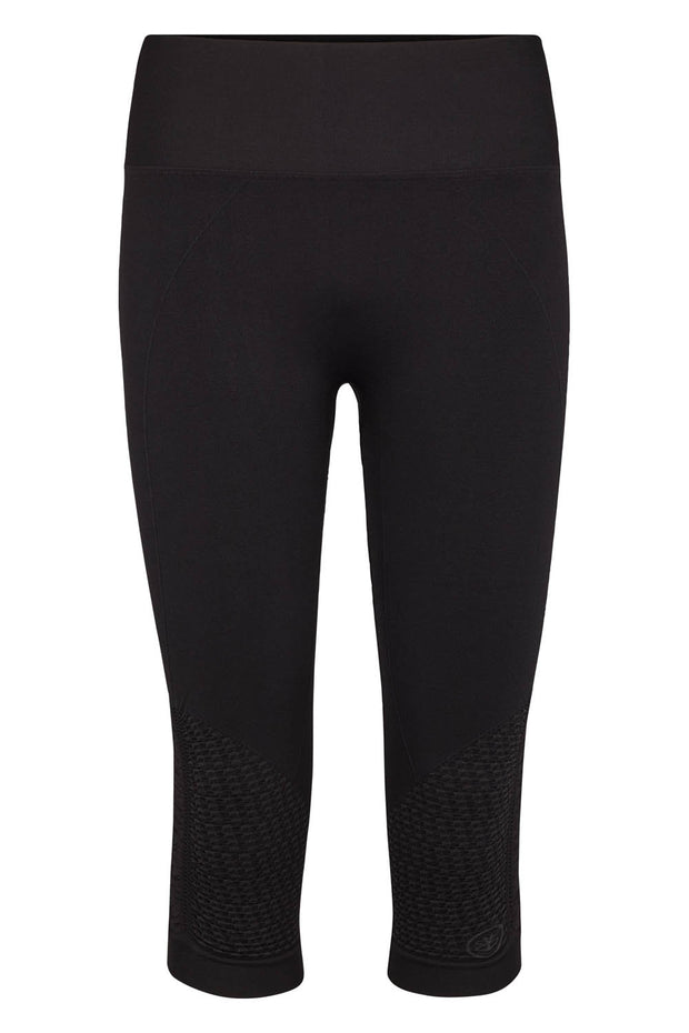 Beluga Classic Tights 3/4 - Front - Black