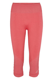 Beluga Classic Tights 3/4 - Front - Calypso Coral