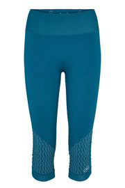 Beluga Classic Tights 3/4 - Front - Harbour Blue