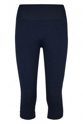 Beluga Classic Tights 3/4 - Front - Navy