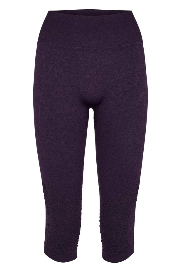 Beluga Classic Tights 3/4 - Front - Sweet Grape