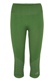 Beluga Classic Tights 3/4 - Front - Tree Top Green