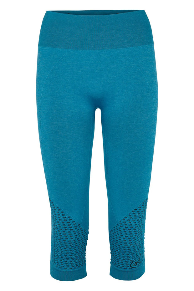 Beluga Classic Tights 3/4 - Front - Turquoise