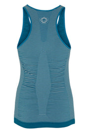 Beluga Classic Top Bra - Back - Harbour Blue/Stripe