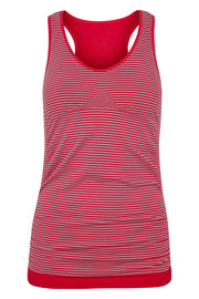 Beluga Classic Top Bra - Front - Virtual Pink/Stripe